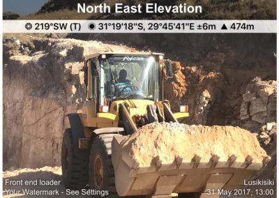 Excavator - Noise & Dust
